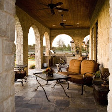 traditional patio by Glendarroch Homes