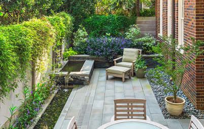 9 Stylish Side Yard Seating Areas