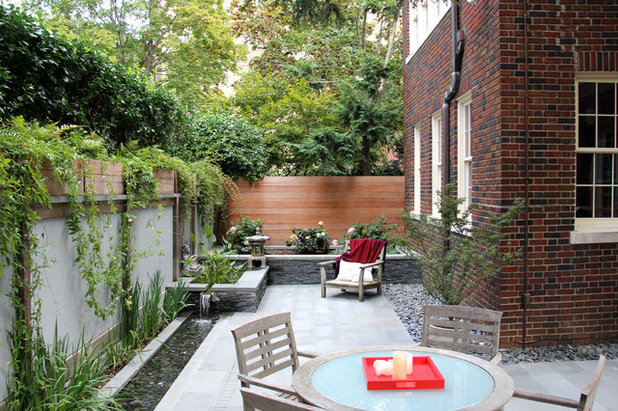 Asian Patio by JHLA | Jennifer Horn Landscape Architecture