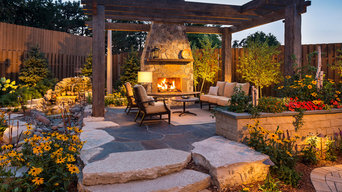 KARE 11 Backyard Outdoor Fireplace