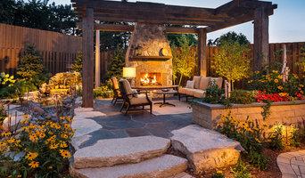 KARE 11 Backyard Outdoor Fireplace