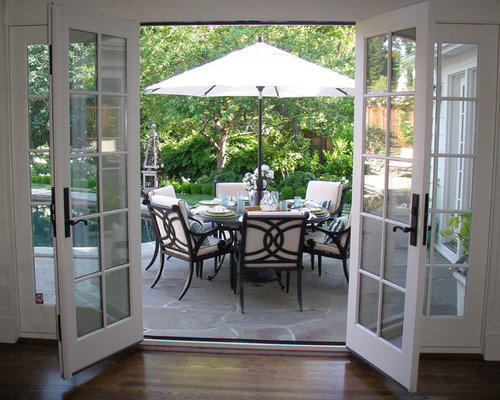 SaveEmail - French Doors To Patio Design Ideas & Remodel Pictures Houzz