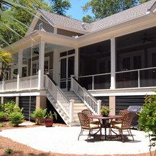Traditional Patio by Cole Design Studio, LLC