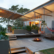Contemporary Patio by True North Architects