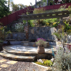 Traditional Patio by AAA Landscape Specialists, Inc.