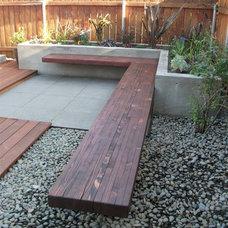 Contemporary Patio by Design Vessel Construction LLC