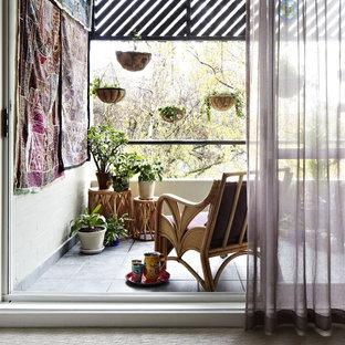 Idee per un patio o portico bohémian