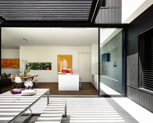 Best modern patio design ideas remodel pictures houzz for Outer space design melbourne