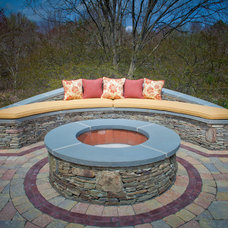 traditional outdoor pillows by KH Window Fashions, Inc.