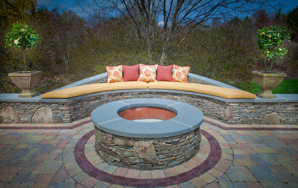 Traditional Patio by KH Window Fashions, Inc.