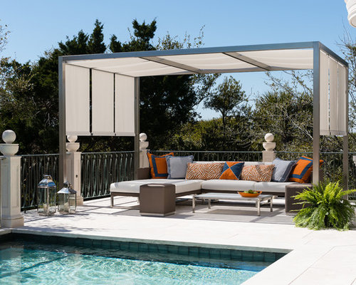 Diy Patio Roller Shades Photos - Diy Patio Roller Shades Design Ideas & Remodel Pictures Houzz