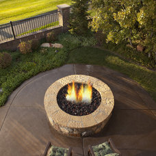 Traditional Patio by Utah Landscaping