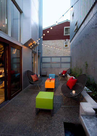 Industrial  Patio by area design, llc.