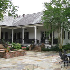 Traditional Patio by Al Jones Architect