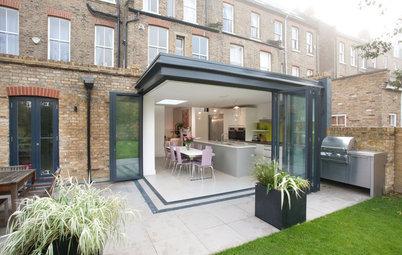 10 baies vitrées XXL ouvrent la maison sur l'extérieur