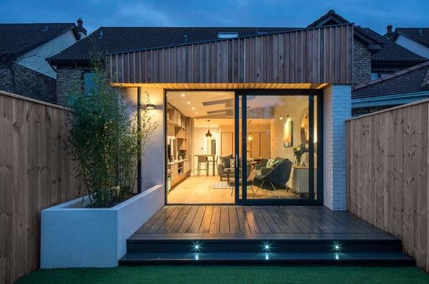 Qu iluminaci n es la m s apropiada para el exterior de for Lamparas para exteriores de casas