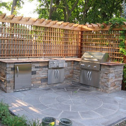 http://www.DesignscapesNY.com - Outdoor Kitchens -