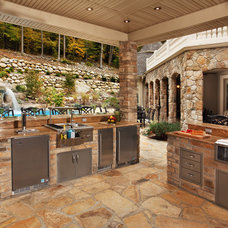 Contemporary Patio by Anthony Albert Studios