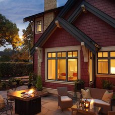 Traditional Patio by Janis Gosbee Design Inc.