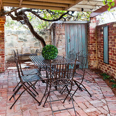 Rustic Patio by Lorena Ongaro-Anderson Design