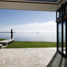 Modern Patio by Daniel Marshall Architect