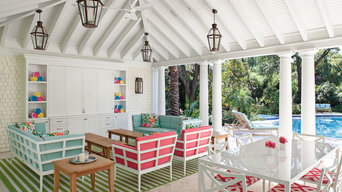 Kuhlman Pool House - Outdoor Living/Dining Space