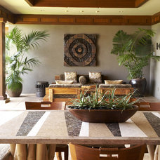 Tropical Patio by Willman Interiors / Gina Willman, ASID