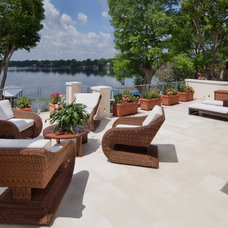 Tropical Patio by Phil Kean Design Group