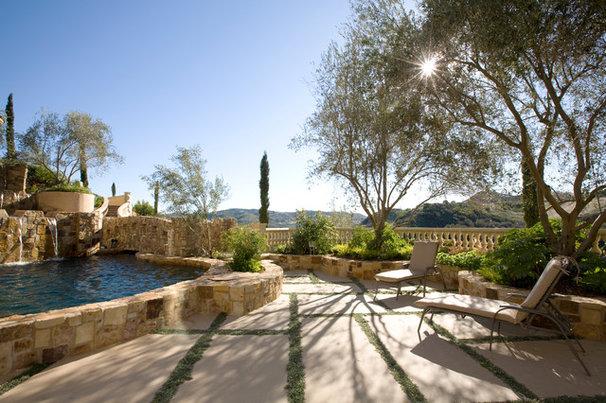 Mediterranean Patio by Element Construction