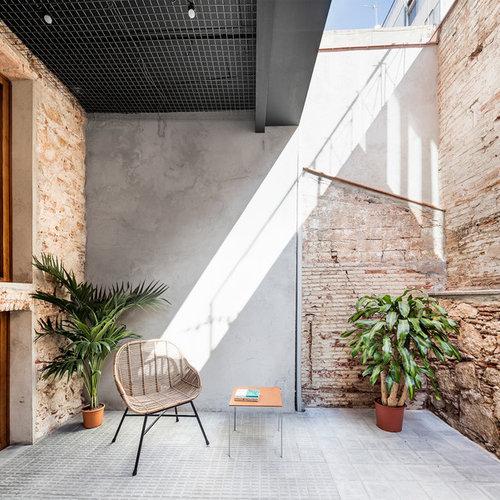 Ideas para patios Diseos de patios contemporneos pequeos