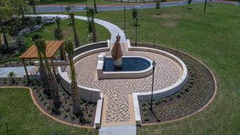 Lady Of San Juan Basilica Fountain