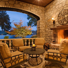 Traditional Patio by Geschke Group Architecture