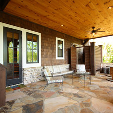 Traditional Patio by Timberlake Custom Homes, LLC