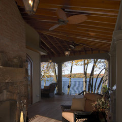 traditional patio by Lake Country Builders