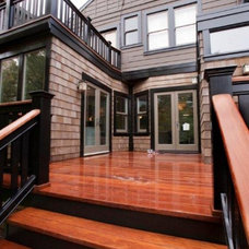 Contemporary Patio by Cardea Building Co.