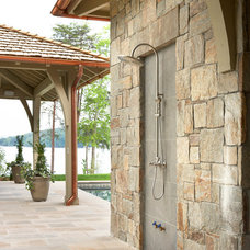 Traditional Patio by Markalunas Architecture Group