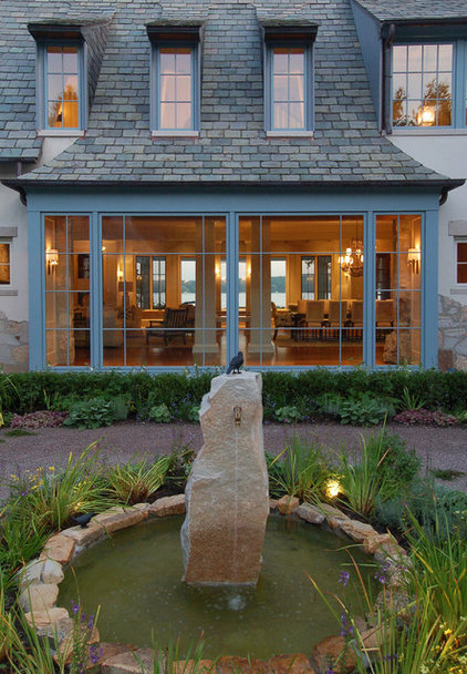 traditional patio by Culligan Abraham Architecture