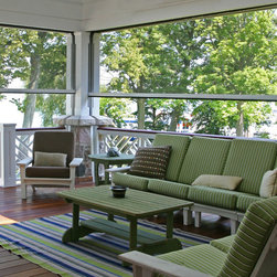 Lake Geneva WI Motorized Screens & Vinyl Shades -