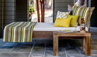 Lake House Outdoor Daybed Cushions and Pillows