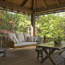 Rustic Patio by The Berry Group