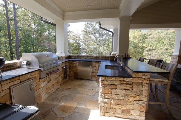 Craftsman Patio by The Norwood Group