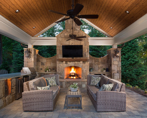 10 Best Outdoor Kitchen Design Ideas & Decoration Pictures | Houzz