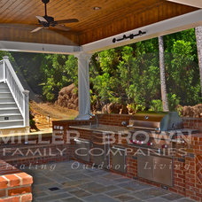 Traditional Patio by Miller Brown Family Companies