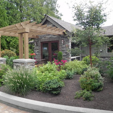 Traditional Patio by Sublime Garden Design, LLC