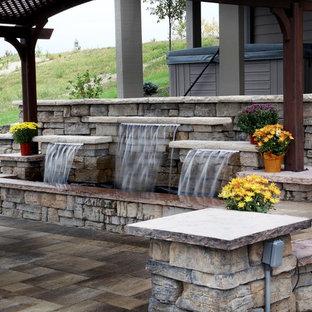 Patio - traditional patio idea in Omaha