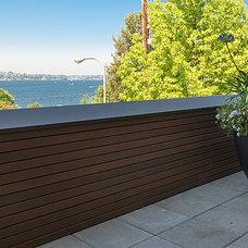 Modern Patio by Chris Pardo Design - Elemental Architecture