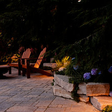 Traditional Patio by Blue Ridge Landscaping