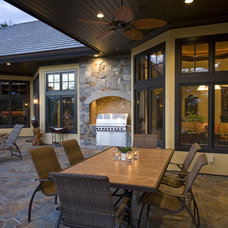Traditional Patio by Marie Meko, Allied ASID