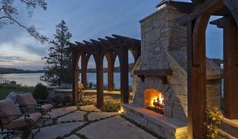Lakeside patios