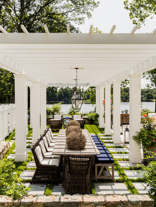 Example Of A Clic Patio Design In Boston